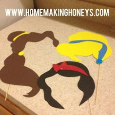 Homemaking Honeys: Princess Party...fun for kids...or adult parties that are themed! Cute!
