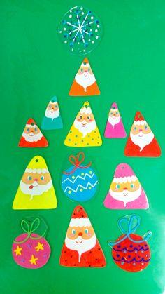 #plaban Santa Claus Shrink plastic