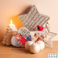 Zara Home Christmas Trends 2013 – Zara Home #Christmas decoration: Nostalgic #ZaraHome Candles & Christmas Boxes and Baskets!