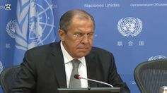 Press Conference with Lavrov at UN General Assembly
