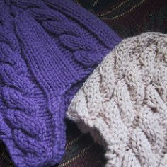 I've knit this from the pattern several times with no issues, and I haven't heard back from anyone that the pattern is wonky, so I'll go ahead and post the first version, the six-cable hat. When th...