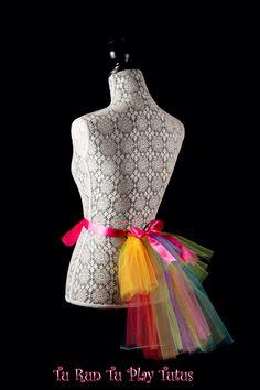 Ribbon Tutu, Bridesmaids, My Etsy Shop, Rainbow, Formal Dresses, Bikinis, Shopping, Fashion, Rainbows