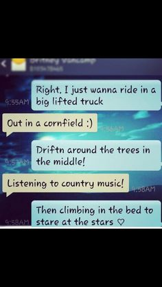 Perfect country date <3