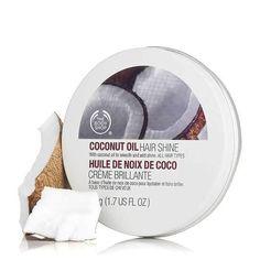 Coconut oil hair shine £5.50