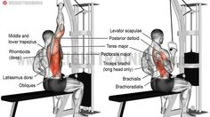 One-arm lat pull-down exercise