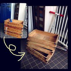 部屋の写真を共有するソーシャルサービス「RoomClip」。読者からの投稿型で、いろいろな家づくりのアイデアが掲載されています。今回は、RoomClipユーザーのkonoharuさんによる、麺箱をリメイクした引き出しワゴンのDIY術を紹介します。