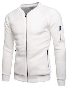 (NKBJK71) TheLees Mens Slim Fit Fleece Lining MA-1 Flight Bomber Blouson Jacket