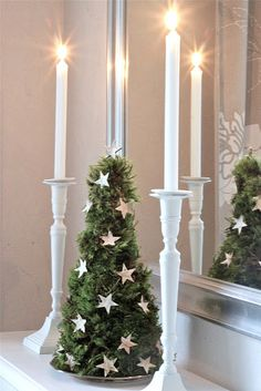 Stylish Christmas accents