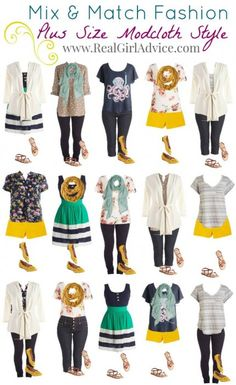 Plus Size Clothes for Less. I love these look it is a must pin to remember.