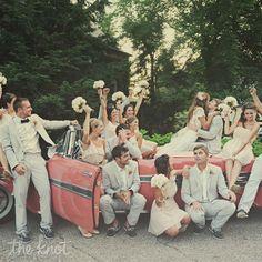 J. Crew Seersucker Formalwear. Groomsmen attire... Love the light grey suits and also bow tie.