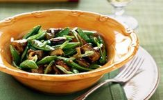 "Stir-fried tofu with mushrooms, sugar snap peas, and green onions from Bon Appétit Magazine - Eat Your Books is an indexing website that helps you find & organize your recipes. Click the ""View Complete Recipe"" link for the original recipe. Tofu Recipes, Vegetarian Recipes, Cooking Recipes, Healthy Recipes, Free Recipes, Healthy Food, Recipies, Yummy Food, Roasted Beet Salad"