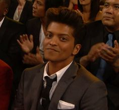 Bruno Mars and Celebrities