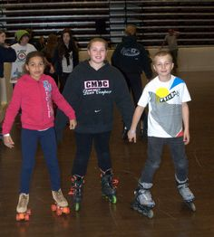 Roller Skating at the Cape May Convention Center