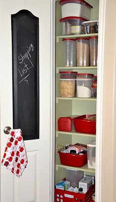 pantry! I need to do this!! I shall.. sometime this winter.