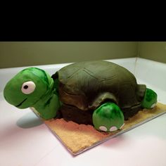 Turtle cake!