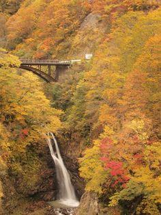 Fudo Fall, Nigata, Japan