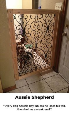 How To Make A Baby Gate From An Old Wood Door Or A Dog