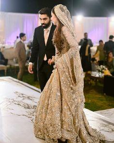 27 Exciting Indian Wedding Dresses That You'll Love ❤ indian wedding dresses gold beaded jeweled sari lehenga oshoot #weddingforward #wedding #bride #weddingoutfit #bridaloutfit #weddinggown