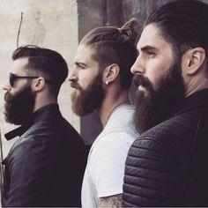 Bearded Men with Friends