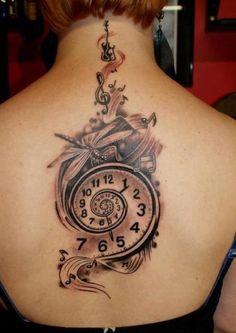 uhr tattoo vorschläge