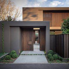Home exterior designs house exterior design ideas ireland Modern Architecture House, Modern House Design, Architecture Design, Home Design, Design 24, Amazing Architecture, Design Ideas, Modern Entrance, House Entrance