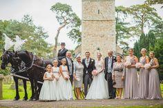 Stradsett Church Wedding Family Group Photo. www.jameskphoto.co.uk