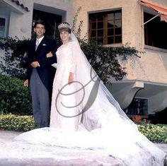 Mariage du Prince Guy de Bourbon Parme et Brigitte Peu Duvallon le 14 juillet 1964  Wedding of Guy de Bourbon Parme and Brigitte Peu-Duvallon july 14, 1964
