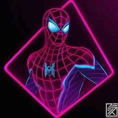 Some basic FFH Spidey Neon as I had a bunch of requests 🕷🕸Get this and my other artworks as a T-shirt/Prints/Stickers from my shop, link… Marvel Art, Marvel Dc Comics, Marvel Heroes, Marvel Avengers, Man Wallpaper, Avengers Wallpaper, Wallpaper Wallpapers, Iphone Wallpapers, Spiderman Art