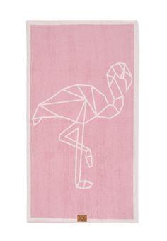Flamingo Yoga Beach Towel by Hawke & Thorn made in Germany on CROWDYHOUSE