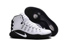 the latest 7a256 3fa04 Nike hyperdunk 2016 Black Grey White For Sale On Newadidasboost Store