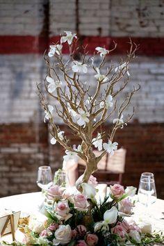 Industrial Glam Wedding Inspiration – Brown Sparrow Wedding