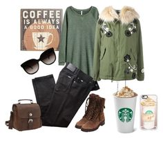 """""""Coffee Meeting"""" by stylish-at-50ish ❤ liked on Polyvore featuring Primitives By Kathy, BRAX, Mr & Mrs Italy, Vagabond Traveler, Chanel and Casetify"""
