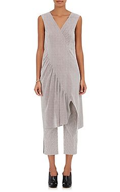 We Adore: The Striped Cotton Shift Dress from Sies Marjan at Barneys New York