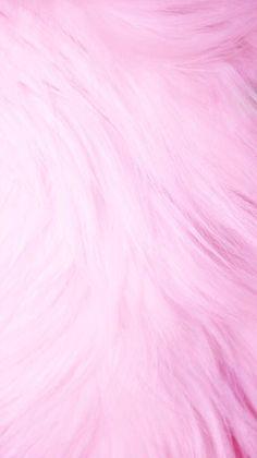 Pink fur iPhone wallpaper