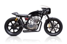 Grievous Angel | Deus Ex Machina | Custom Motorcycles, Surfboards, Clothing and Accessories | One mean looking Yamaha SR400 Cafe