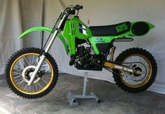 1983- Kawasaki KX125 A8...reminds me of my '82 :)