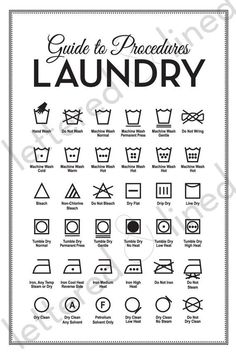 7 Best Images of Printable Laundry Care Symbol Chart - Free Printable Laundry Symbols Guide, Laundry Guide Symbols and Laundry Symbols Clothing Tag