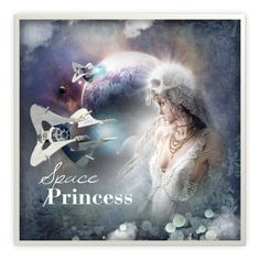 """""""Space Princess"""" by lenochca ❤ liked on Polyvore featuring art"""