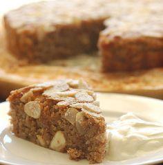 Banana and Almond Cake Recipe