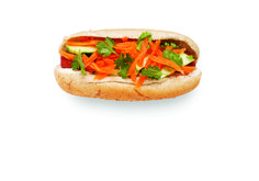 If you're a fan of the Vietnamese banh mi sandwich—or even if you're not—try this unique fresh topping combo the next time you're grilling dogs. We love the ...