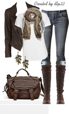 """Fall Casual"" by dlp22 on Polyvore"