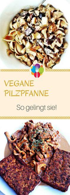 Vegane Pilzpfanne - Vegalife Rocks: www.vegaliferocks.de✨ I Fleischlos glücklich, fit & Gesund✨ I Follow me for more vegan inspiration @vegaliferocks