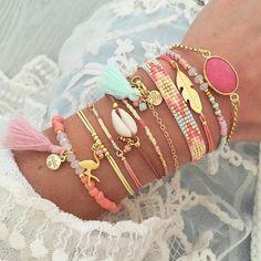 Pastel Bracelet Stacks