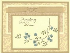 Thoughts & Prayers by dmcs345 - Cards and Paper Crafts at Splitcoaststampers