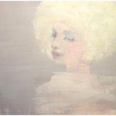 Jorunn Mulen Original Painting - Just Like You Said www.shabbychic.com Shabby Chic Canvases, Soft Colors, Colours, Art Decor, Original Paintings, Romance, Creative, Pretty, Artist