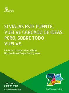 Nos gustan las #ideas pero nos gusta más que puedas hacerlas realidad. Feliz Puente!