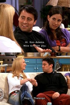 Ken Adams and Regina Phalange
