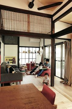 Japanese Style House, Japanese Modern, Japanese Architecture, Interior Architecture, Interior Design, Japanese Living Rooms, Live In Style, Little Cabin, Home Reno