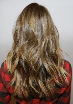 Light golden brown with highlights