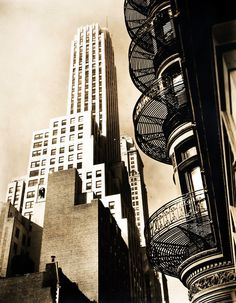 New York City, Architecture, 1930s, Berenice Abbott